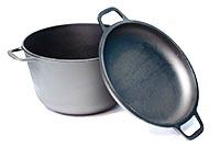 Чугунная и алюминиевая посуда