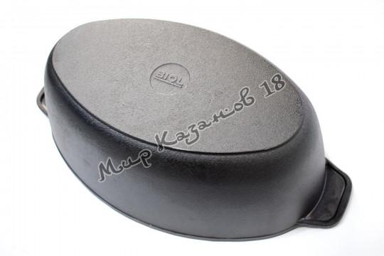 Гусятница литая чугунная BIOL 6 л
