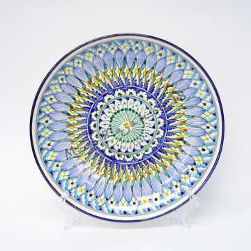 Ляган керамический 32 см Синий