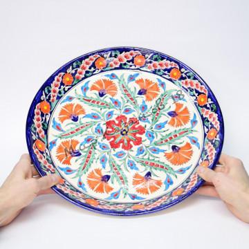 Ляган керамический 38 см Турецкий