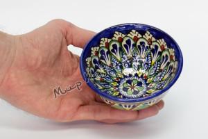 Пиала керамическая большая Синяя