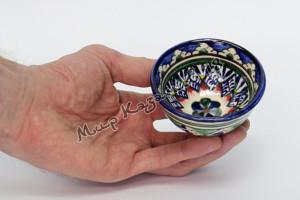 Пиала керамическая малая Синяя