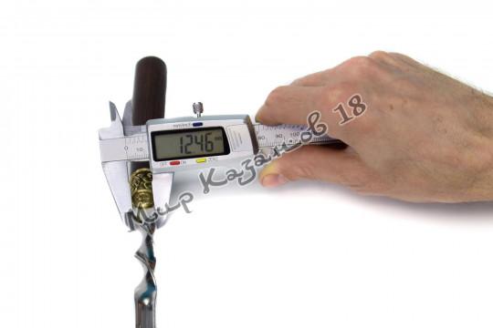 Подарочный набор угловых шампуров (Звери 013) 6 шт 45 см