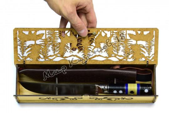 Коробка для среднего пчака (длина 28 см)