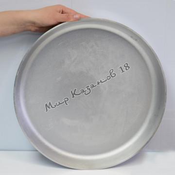 Сковорода алюминиевая 400х50 мм без ручек