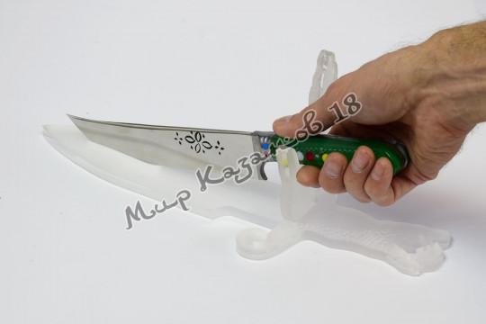 Подставка для пчака Кинжал с рукой, оргстекло