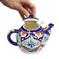 Чайник (фарфор) 1,25 л ОРИГИНАЛ синий