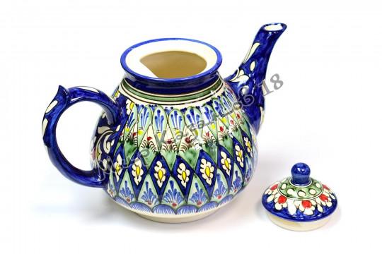Чайник (фарфор) 2 л НАКША синий