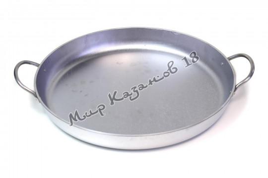 Сковорода алюминиевая 400х50 мм с ручками