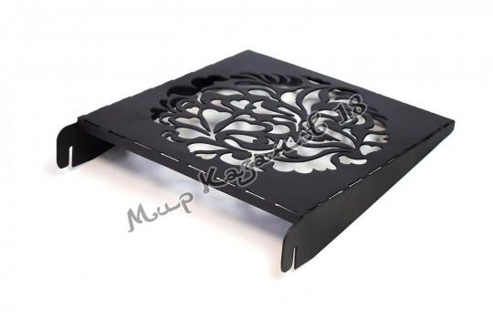 Полка-столик для мангала 30 см, сталь 2 мм