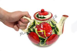 Чайник керамический 2 л. Гранат