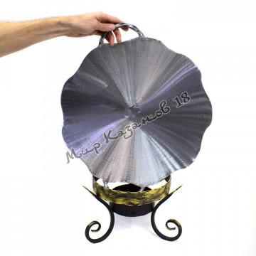 Садж из диска бороны диаметром 46 см