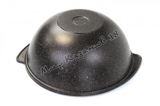 Казан Kukmara 3,5 л АП покрытие Тёмный мрамор