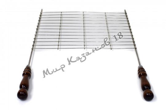 Решетка-гриль 40х30 см Нержавейка