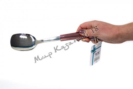 Лопатка 28 см с пластиковой ручкой