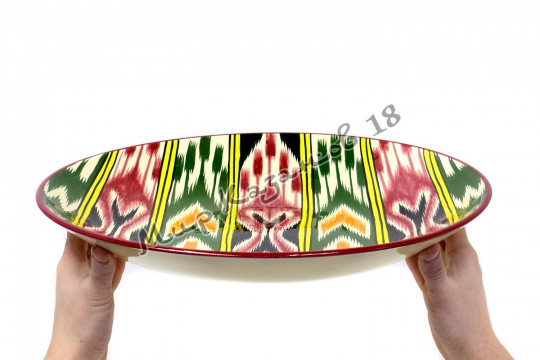 Ляган керамический 42 см Атлас