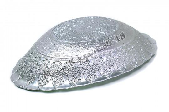 Блюдо овальное ХЮРРЕМ ИЗУМРУД 40 см