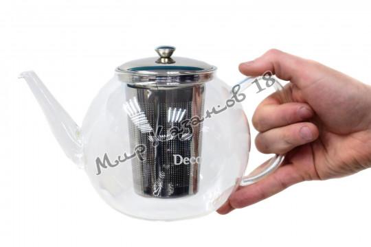 Чайник заварочный 1500 мл, стекло