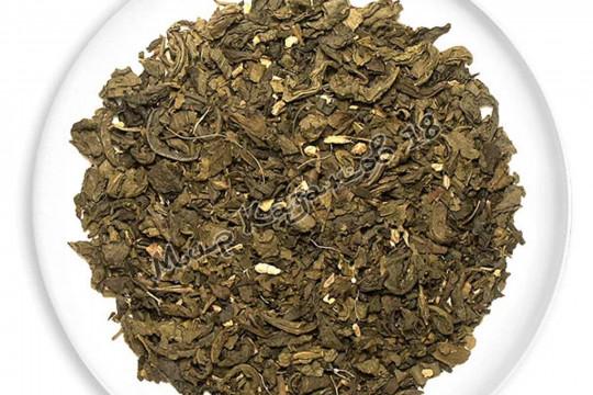 Чай Зеленый с имбирем и медом 100г
