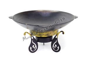 Садж-сковорода 51 см (глубокий) Чугун