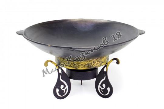 Садж-сковорода 51 см Чугун