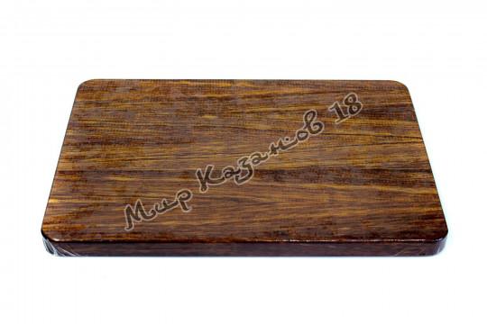 Разделочная доска 36х26х2 см Красное дерево