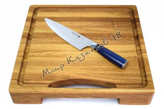 Кухонный шеф-нож (Гуйто) Tuotown SG-005, рукоять тёмно-синяя, сталь VG-10