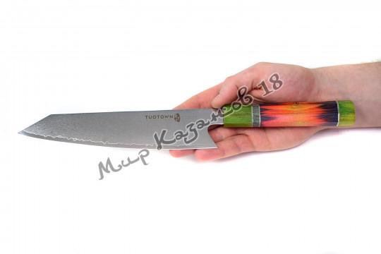 Нож для разделки птицы (Гарасуки) Tuotown T-BJ, рукоять дерево, сталь VG-10