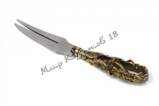 Подарочная вилка-нож Рыбий рай (литьё)