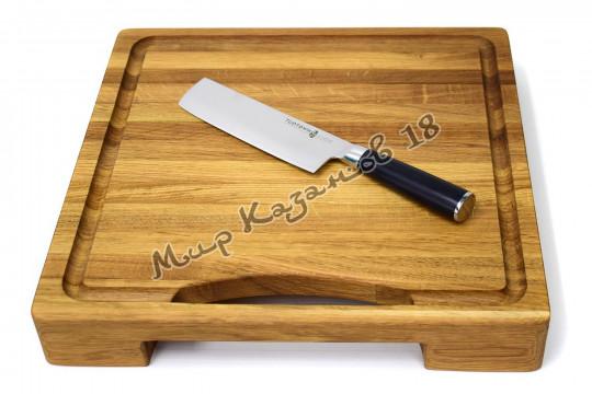 Нож для нарезки овощей (Накири) Tuotown TG-D11, рукоять текстолит, сталь VG-10