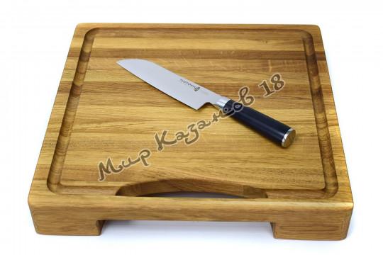 Нож для нарезки (Сантоку) Tuotown TG-D6, рукоять текстолит, сталь VG-10