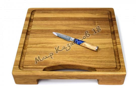 Нож для фруктов и овощей Tuotown TWB-D1, рукоять дерево+эпоксидка, сталь VG-10