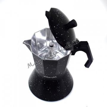 Кофеварка гейзерная Kamille 600 мл (12 порций, подходит для индукции)