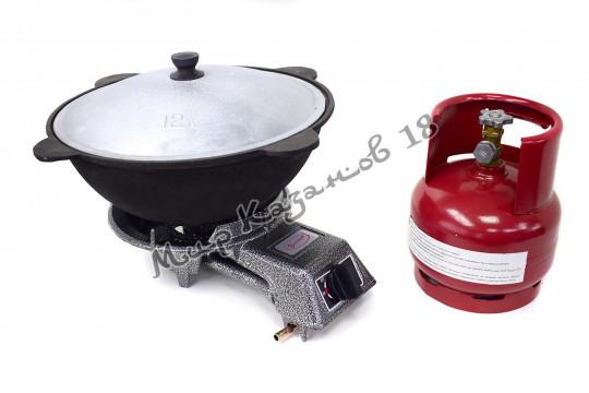 Газовая плитка УМНИЦА ПГЧ-2 (5 кВт)