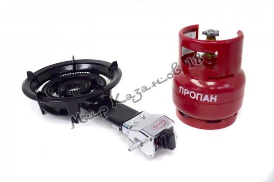 Газовая плитка УМНИЦА ПГЧ-3А (10 кВт)