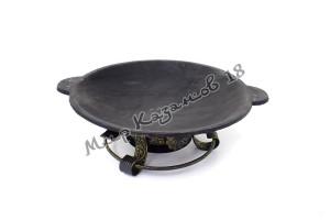 Садж-сковорода 40 см (глубокий) Чугун
