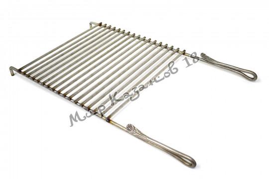 Решетка гриль 40х40 см, нержавеющая сталь