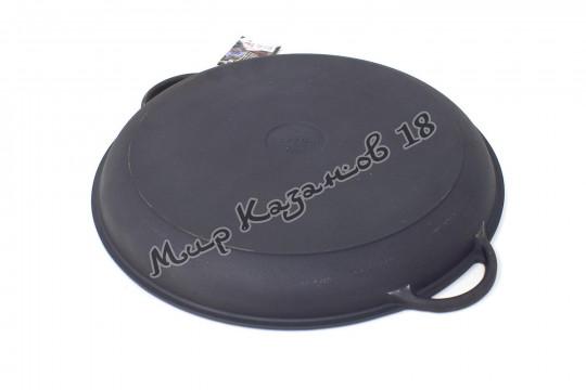 Крышка-сковорода чугунная для 12 л казан, D40см, Ситон