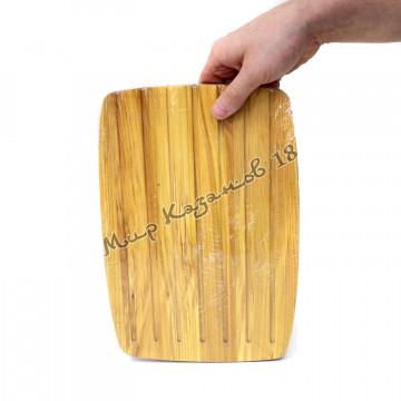 Разделочная доска для ХЛЕБА 22х32х1,5 см Берёза
