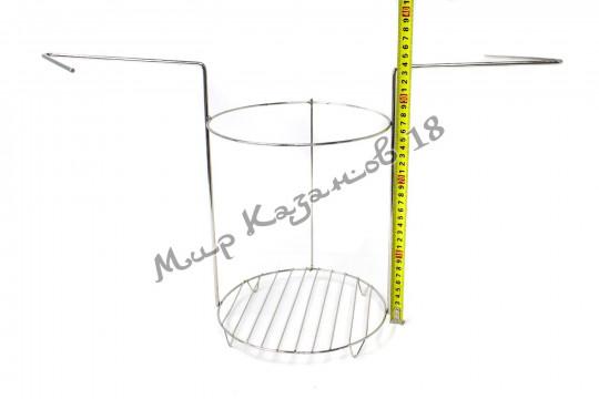 Этажерка (решётка) для тандыра (220х335 мм) 1 ярус, нержавейка