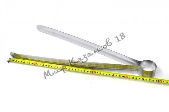 Щипцы металлические 48 см, нерж. сталь