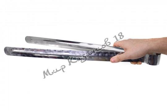 Щипцы металлические 60 см, нерж. сталь