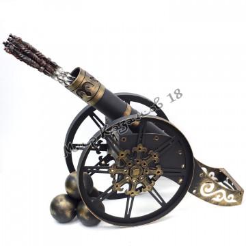 Тубус для шампуров Пушка (диаметр 76 мм)