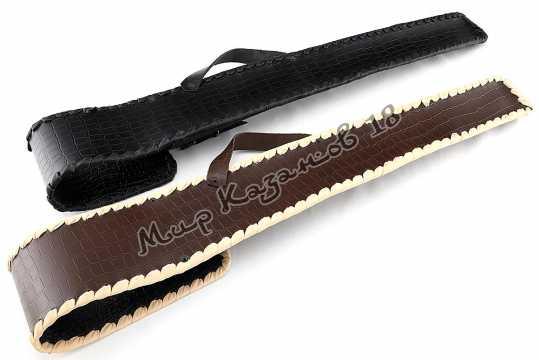 Подарочный чехол для шампуров (№13) Натуральная кожа