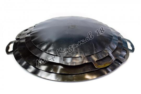 Садж 35 см Воронёная сталь