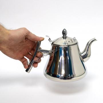 Чайник заварочный 1 л. Нержавейка