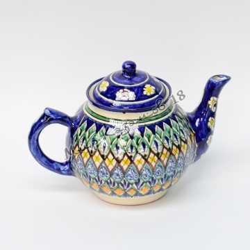Чайник керамический 1 л. Синий
