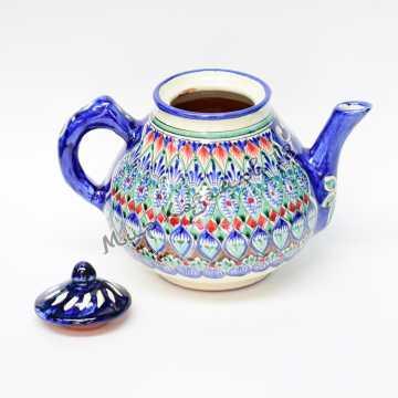 Чайник керамический 2 л. Синий