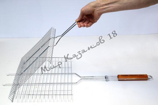 Решетка-гриль для барбекю Vertex VB-362 (широкая, тонкая)