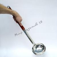 Половник 64 см с деревянной ручкой
